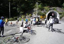 中山トンネル入口