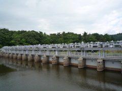 十六橋水門は安積疎水開拓事業の産業遺産