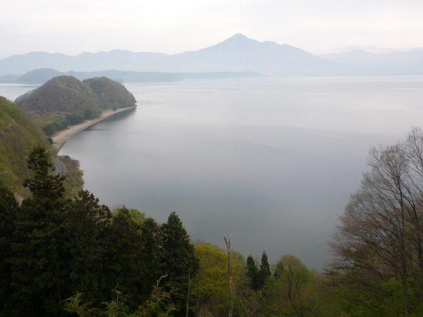 材木山と磐梯山