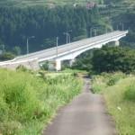大川ダムの橋
