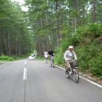 電動アシスト自転車で大内宿
