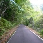 鳩峰峠福島側