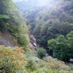 茂庭の渓谷