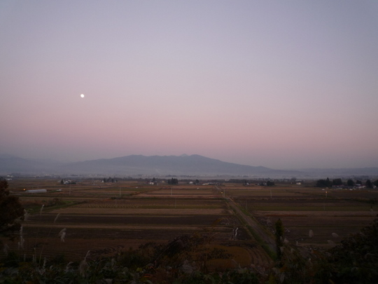 会津盆地へ帰ってきた