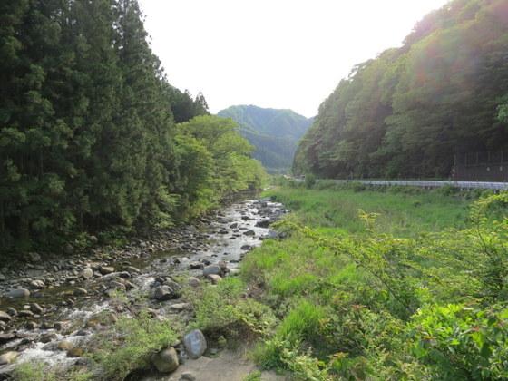 鮫川と御斎所街道
