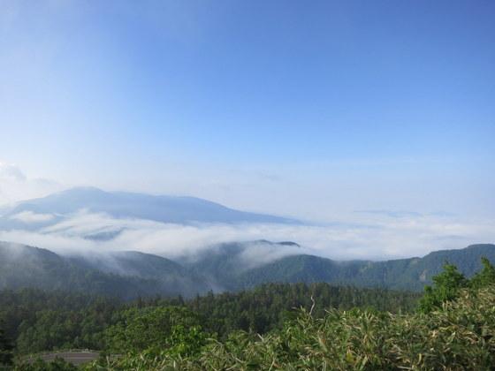 あふれる雲海