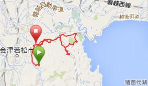 滝沢峠~赤井~戸の口
