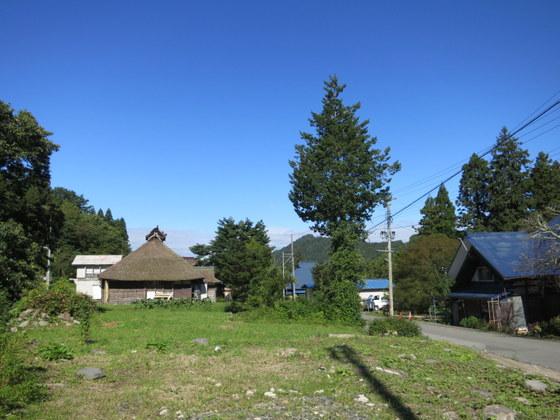 大沢の集落