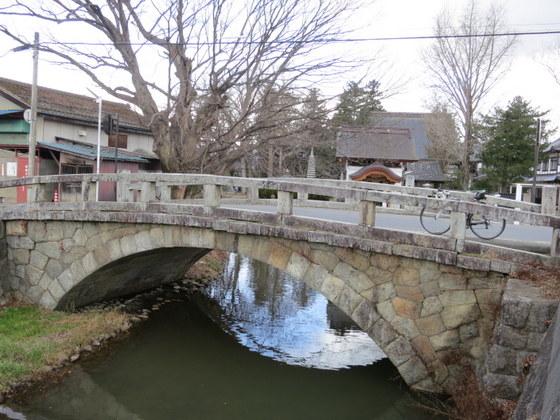 福島市松川のめがね橋