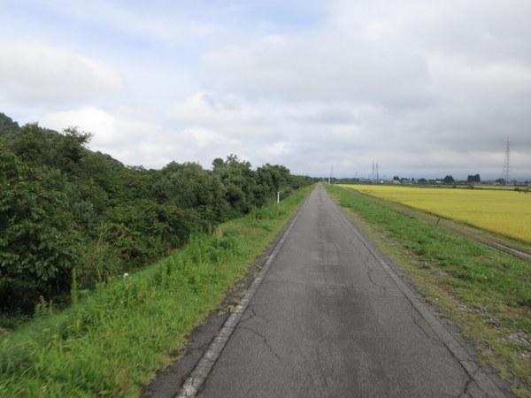 会津若松からサイクリングロードを南へ